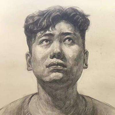 李文飞-人像素描