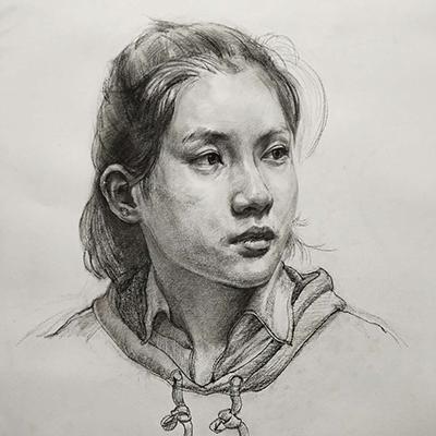 刘永乐-人像素描